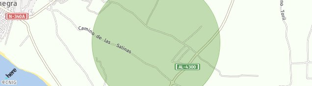 Mapa Balanegra