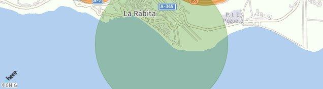 Mapa La Rábita