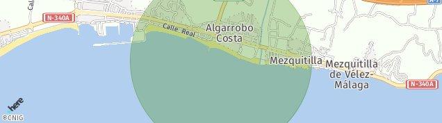 Mapa Algarrobo-Costa