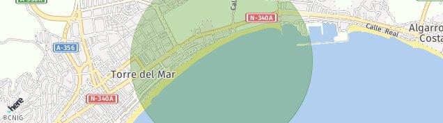 Mapa Torre del Mar