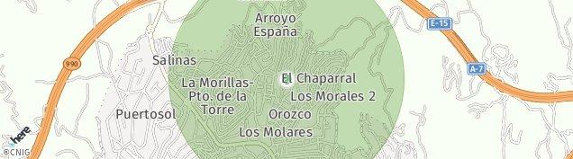 Mapa Puerto de La Torre