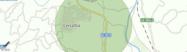 Mapa Cerralba