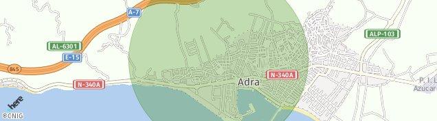 Mapa Adra