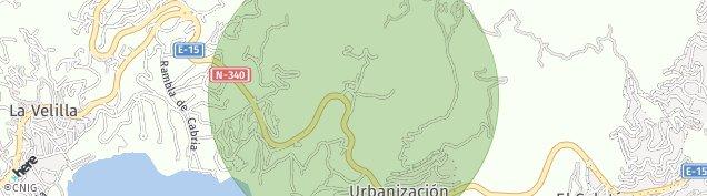 Mapa Velilla-Taramay