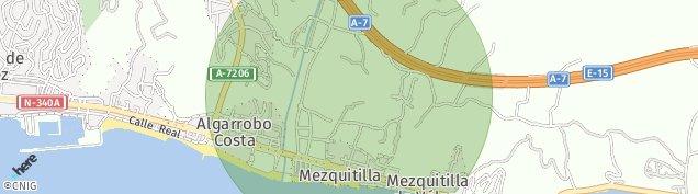 Mapa Mezquitilla