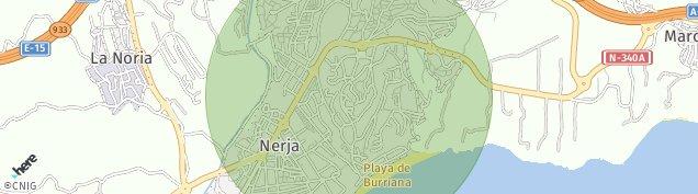 Mapa Nerja