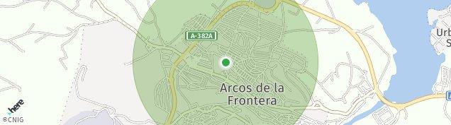 Mapa Arcos de la Frontera