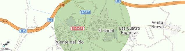 Mapa La Curva