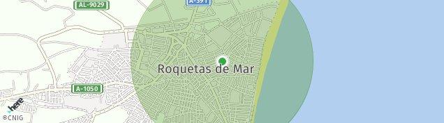 Mapa Roquetas de Mar