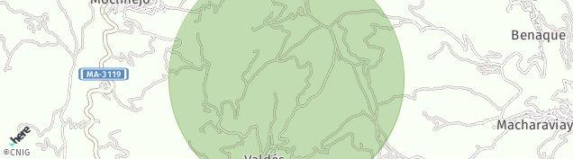 Mapa Moclinejo