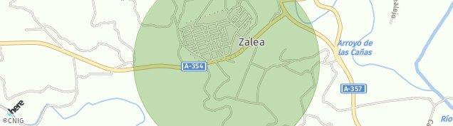Mapa Zalea