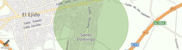 Mapa Santo Domingo