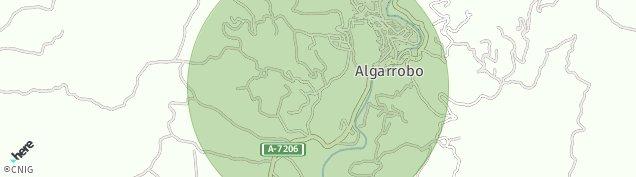 Mapa Algarrobo