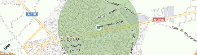 Mapa El Ejido