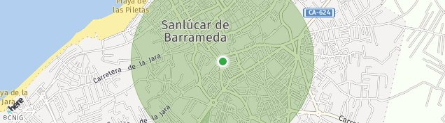 Mapa Sanlúcar de Barrameda