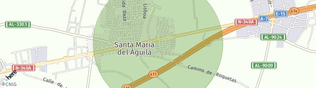 Mapa Santa Maria del Aguila