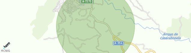Mapa Casarabonela