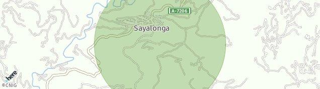 Mapa Sayalonga