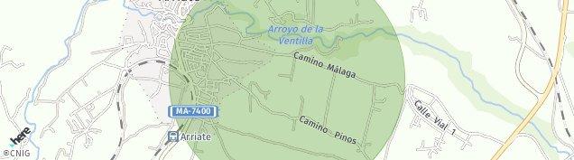 Mapa Arriate