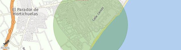 Mapa El Campillo del Moro