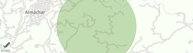 Mapa Almáchar