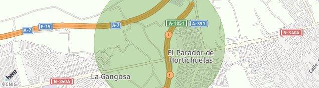 Mapa El Parador