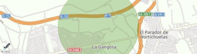 Mapa La Gangosa