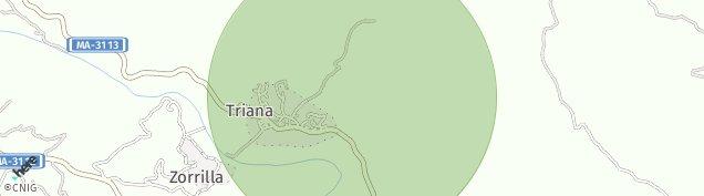 Mapa Triana