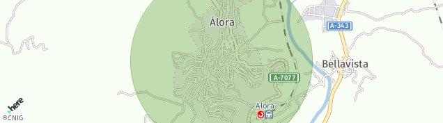Mapa Álora