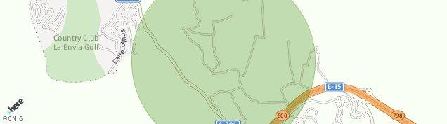 Mapa El Parador de Las Hortichuelas