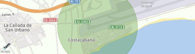 Mapa Costacabana