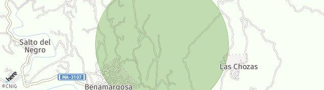 Mapa Benamargosa