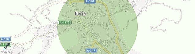 Mapa Berja