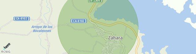Mapa Zahara de La Sierra