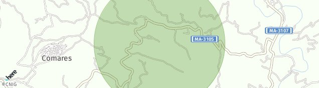 Mapa Comares