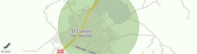 Mapa El Cuervo de Sevilla