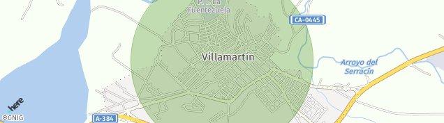 Mapa Villamartín