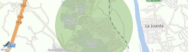 Mapa La Juaida