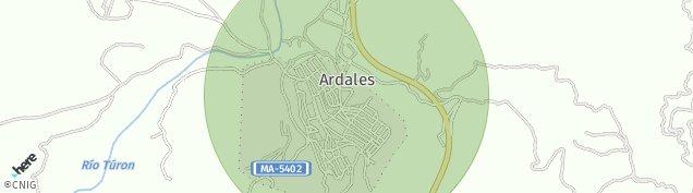 Mapa Ardales