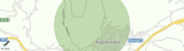 Mapa Algodonales