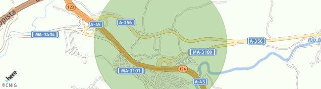 Mapa Casabermeja