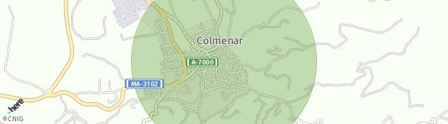 Mapa Colmenar