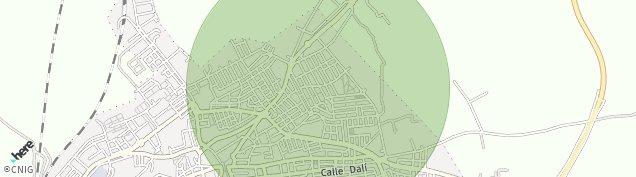 Mapa Lebrija