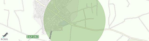 Mapa Campohermoso