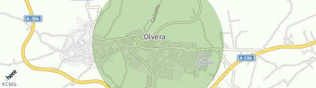 Mapa Olvera