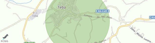 Mapa Teba