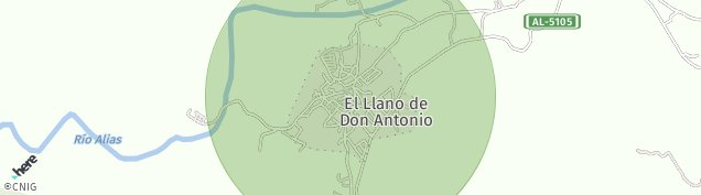 Mapa El Llano de Don Antonio