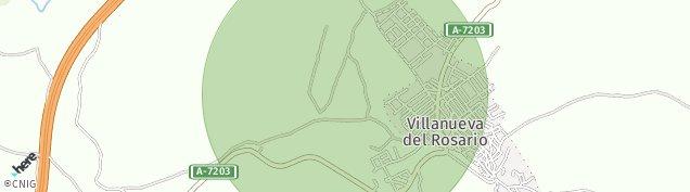Mapa Villanueva del Rosario