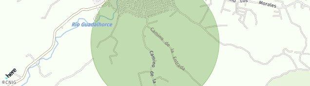 Mapa Villanueva del Trabuco