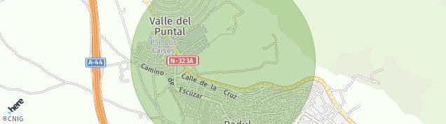 Mapa Padul